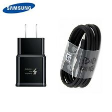 Original Samsung Galaxy S9 S8plus Note 8 Fast OEM Wall Charger + Type C Cable