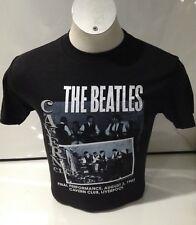 La Caverna De Los Beatles Para Hombre Rendimiento final T-Shirt Negro