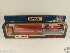[OF3-81] MATCHBOX TC-14 TEAM CONVOY FERRARI SET - 1992 - IN ORIGINAL BOX MIB