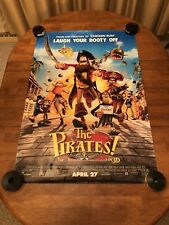 The Pirates: Band of Misfits 27x40 D/S Movie Poster New!