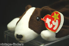 Ty Beanie Babies Collection Bruno 1997 Retired w Tags and Display Box c