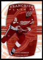 2002-03 In The Game First Edition Steve Yzerman #351