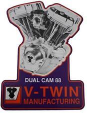 V-Twin Harley Davidson Twin Cam Engine Tin Sign TC Dual Cam Motor Metal Plaque
