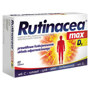 Rutinacea Max D 3 60 tabs - support proper functioning of the immune system