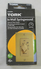 NSi Tork A560M Spring Wound Timer 60 Minute Max No Hold Feat Ivory