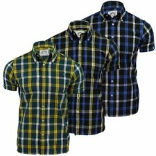 Polyester Checked Slim Collared Casual Shirts & Tops for Men