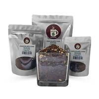 Premium Herbal Chocolate Chai Tea Blend Served Hot or Iced
