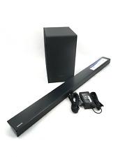 Samsung HW-N550 3.1 CHANNEL Soundbar W/ Wireless Subwoofer PS-WN20 Black #U0144
