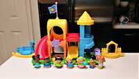 Fisher-Price Little People Neighborhood Playground Playset with Extras