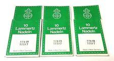 30 Pcs. LAMMERTZ SEWING NEEDLE  328CH  , 214x1, DDx1  SIZE #24/180 , 180/7