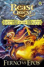 Battle of the Beasts: Ferno vs Epos: Book 1 (Beast Quest),Adam Blade
