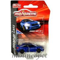 MAJORETTE 3052MJT PREMIUM CARS SUBARU WRX STi 1/57 - 1/64 MODEL CAR BLUE