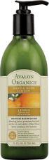 Hand & Body Lotion Lemon, Avalon Organics, 12 oz