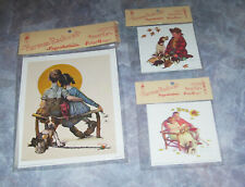 Norman Rockwell Vtg 1972 Reproduction Prints Keenan & Co Portland OR NOS