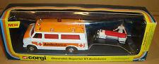 CORGI 405 CHEVROLET-SUPERIOR 61 AMBULANCE UNFALLWAGEN 1977