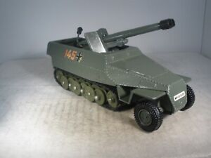 Dinky Toys Military Army GERMAN HANOMAG TANK DESTROYER #694 GREAT CONDITION