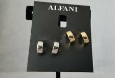 Alfani Two-Tone 2-Pc. Set Hoop Earrings