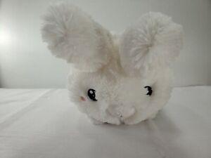 """12"""" Squishable White Fluffy Easter Plush Bunny Rabbit Stuffed Animal Soft Eyed"""