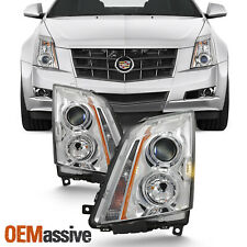 Fits 2008-2013 Cadillac CTS Headlights Lights Light Replacement Left+Right 08-13