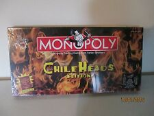 2004 Chile Heads Edition Monopoly Game Produced by USAopoly NEW Sealed