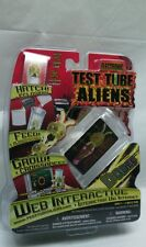 Electronic Test Tube Aliens Web Interactive Grow Your Own Alien Dodec- Nib