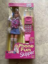 Phone Fun Skipper Doll (Teen Sister of Barbie)(New)