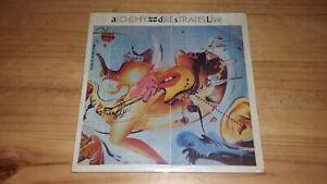 Dire Straits Alchemy Dire Straits Live LP Gatefold x2 records PERU