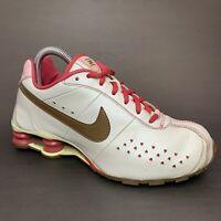 Nike Shox Classic Sz 6Y White Red Hearts 309711-121 EUR 38.5 Womens 7 US