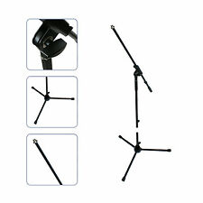 2 x MIC/MICROPHONE STAND ADJUSTABLE-REMOVEABLE BOOM/ARM