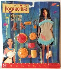 Pocahontas Wilderness Dress N Play Outfit Accessories Disney Mattel Feather New