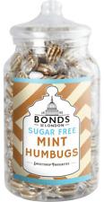 BONDS SUGAR FREE - MINT HUMBUGS - 2KG JAR, TRADITIONAL BOILED SWEETS,