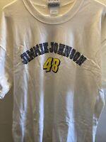 NASCAR Jimmie Johnson #48 Lowes Winners Circle T-shirt Size Adult (L) Large