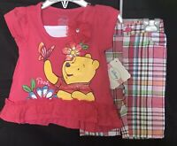 Disney Store - Winnie the Pooh - Baby / Infant - Two Piece Outfit - Size: 12M