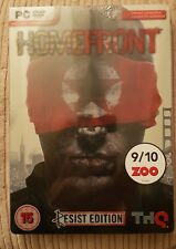 LIMITED HOMEFRONT RESIST STEELBOOK EDITION GAME FOR PC NEW & SEALED FREE POST