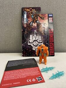 GENTLY USED 100% complete Transformers WFC Earthrise Battle Master Rung!!