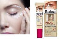 Balea VITAL Anti-Fatigue Eye - Cream For Mature Skin Age 45 - 55+ 15 ml