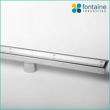 Shower Grate Tile Insert Removable Drain Catcher Stainless Steel Marine 900