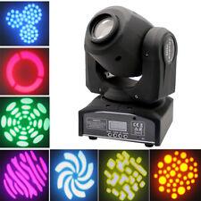 Bühnenlicht LED Spot Light 30W DMX512 RGBW Moving Head Gobo Bühnenbeleuchtung