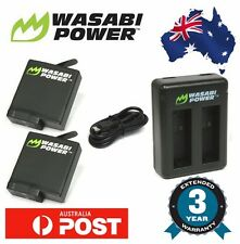 Wasabi Power Battery for GoPro HERO 6 2x 1220mAh batteries with Dual USB Charger