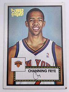 Basketball Cartes  2005-06  Topps -1952 Style-New York Knicks- Channing Frye