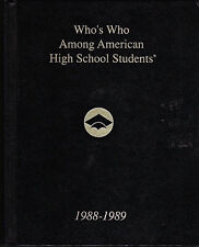 Who's Who among American High School Students, 1988-89 10 X (Hardcover)