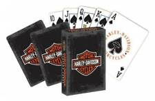 Harley-Davidson Rustic Bar & Shield Logo Standard Size Playing Cards Deck 637