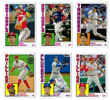 1984 Topps Baseball Insert Complete Your Set 2019 Series 1 You U Pick Choice