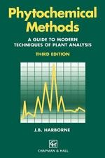 Phytochemical Methods : A Guide to Modern Techniques of Plant Analysis by A....