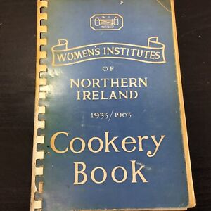 Authentic Irish Cookery CookBook 1963 Women's Institute Northern Ireland Ulster