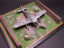 Airmodel Products 1/72 LUFTWAFFE FIGHTER WOODEN BLAST PEN Wood Kit