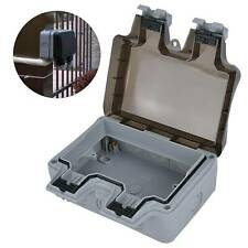 outdoor socket covers Plug Box Cover Rainproof Switched Cover Wall Rainproof Box
