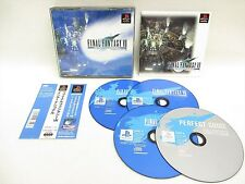 PS1 FINAL FANTASY VII 7 International with SPINE CARD FF7 * Playstation p1