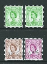 GREAT BRITAIN 1998 WILDINGS VARIETY SET 4  FINE USED SG 2031-3