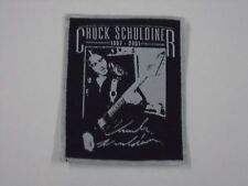 DEATH CHUCK SCHULDINER WOVEN PATCH